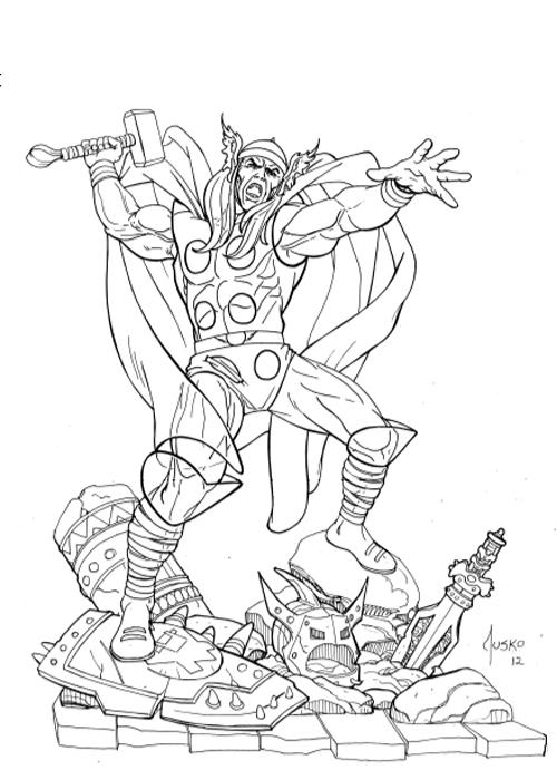 Thor art blog 2