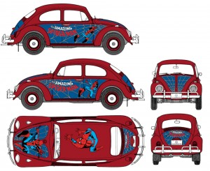 Spider-man-car-graphics