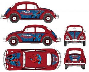 Spider-man-car-graphics