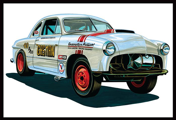 AMT1022 1949 Ford Gas Man Lid