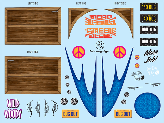 SCM031 Streetle Beetle Decals