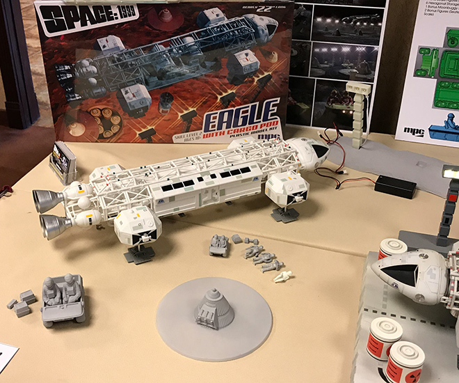 MPC Models: Space:1999 Eagle Display Model | Collector Model