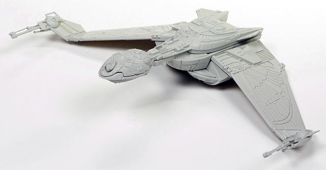 Star Trek Model Kits: U S S  Grissom & Klingon Bird-of-Prey