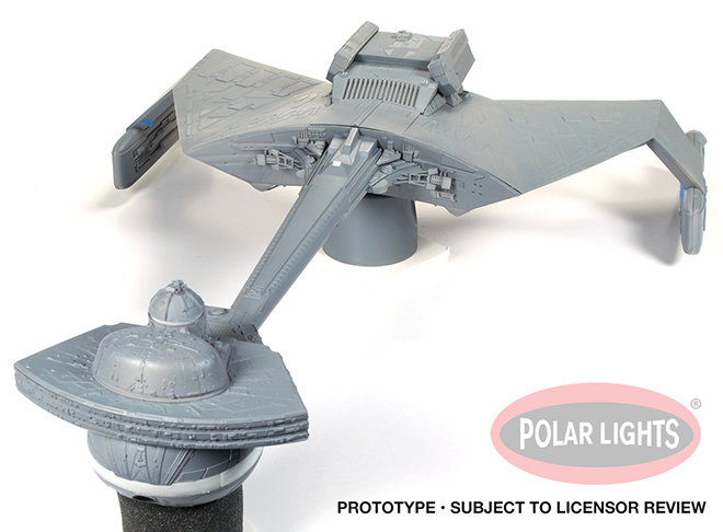Star Trek Model Kits: All-New 1:350 K't'inga Model Kit