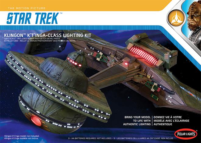 Klingon Romulan Bird of Prey TOS Classic AMT 763 Bausatz Enterprise Star Trek