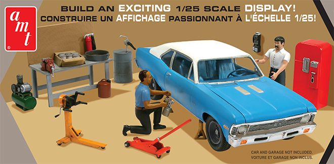 Amt Model Kits Garage Accessory Series Set 2 Collector